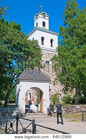 Rauma. Finland. Church of the Holy Cross