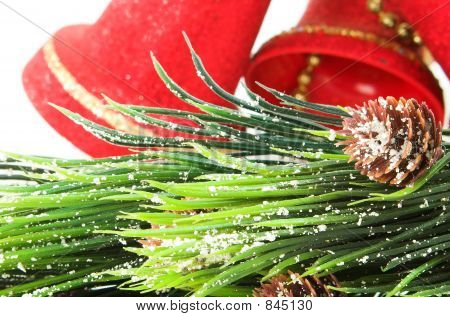 bells and christmas tree