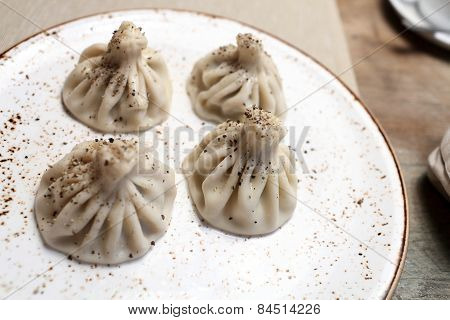 Khinkali With Black Pepper