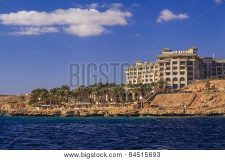 Hotel On The Seafront. Sharm El Sheikh. Egypt.