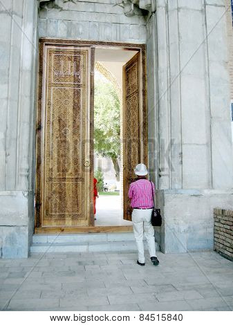 Samarkand Bibi-khanim Door 2007