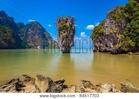 James Bond Island In Andaman Sea