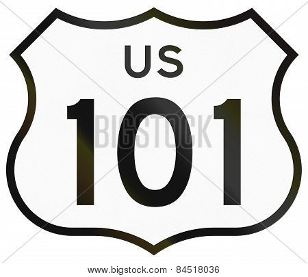 Us Route Shield California