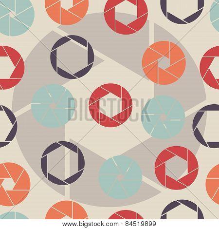 seamless pattern shutter