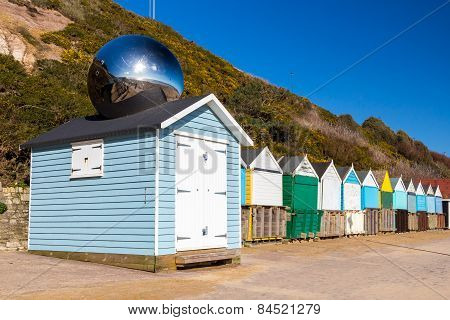 Middle Chine Beach Huts Dorset