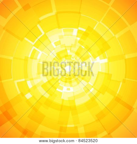 Modern Abstract Light Yellow Orange Background With Rectangles
