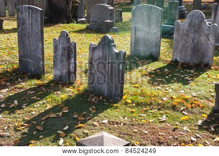 Gravestone shadows