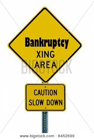 Bankruptcy Caution