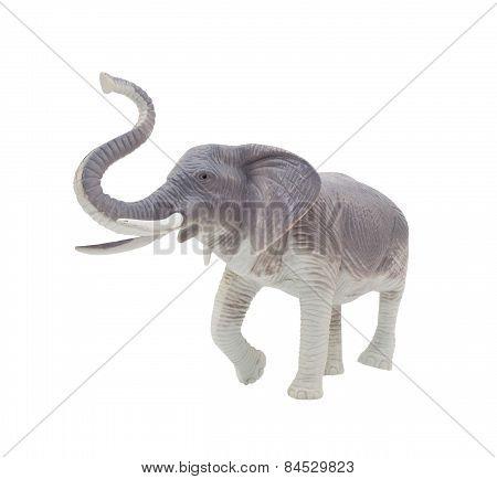 Elephant toy.