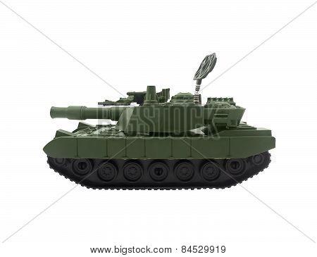 Modern tank toy.