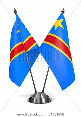 Democratic Republic Congo - Miniature Flags.