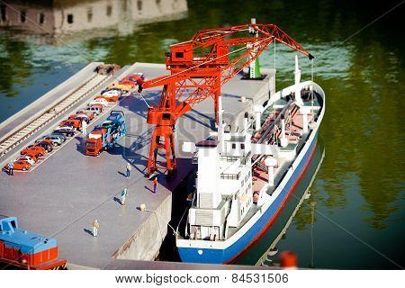 Model Of Sea Port