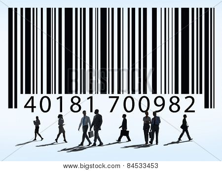 Barcode Marketing Business Concept