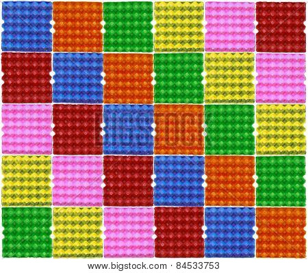 Colorful Eggs Panel