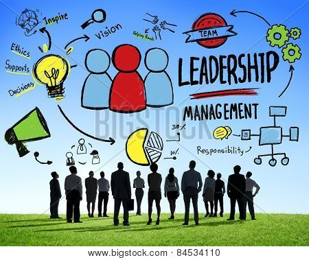 Diversity Business People Leadership Management Corporate Aspiration Concept