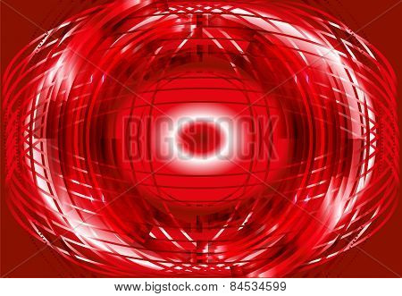 Hi-tech red background