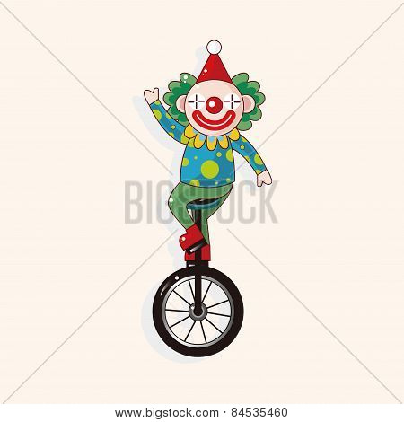 Circus Clown Theme Elements Vector,eps