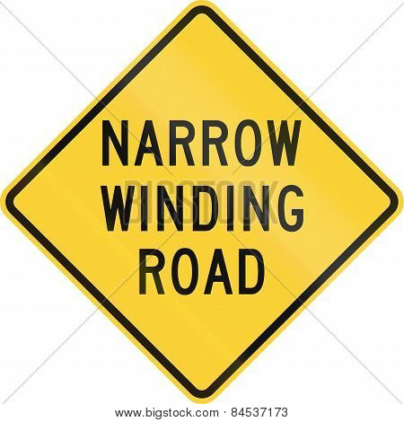 Narrow Winding Road