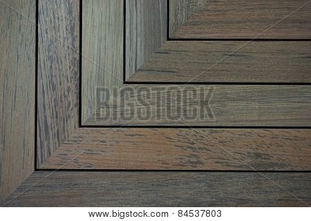 Angle Teak Wood Background