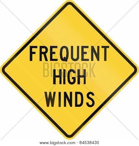 Frequent High Winds