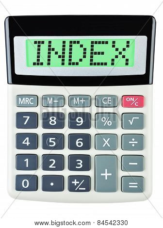 Calculator With Index