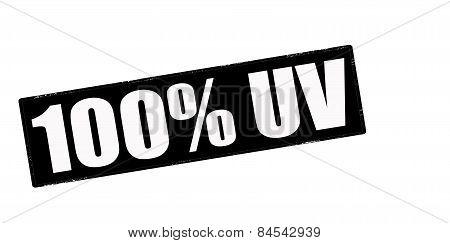 One Hundred Percent UV