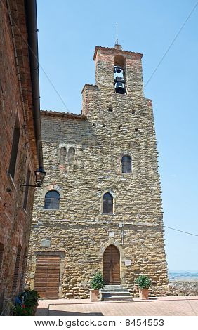 Podesta's Palace. Panicale. Umbria.
