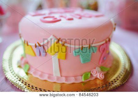 baby shower dessert