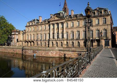 France, Bas Rhin, Le Palais Rohan In Strasbourg
