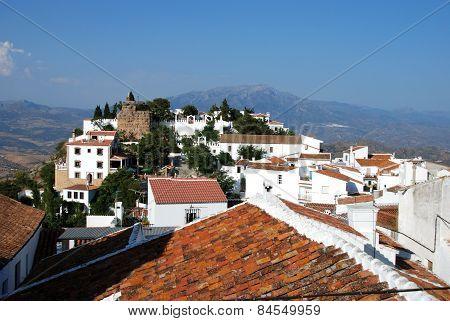 White village, Comares.
