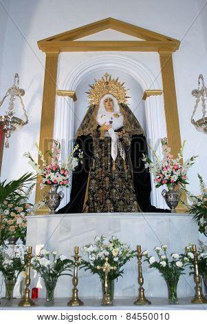 Religious statue, Alora.