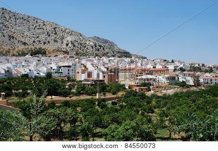 White village, Valle De Abdalajis