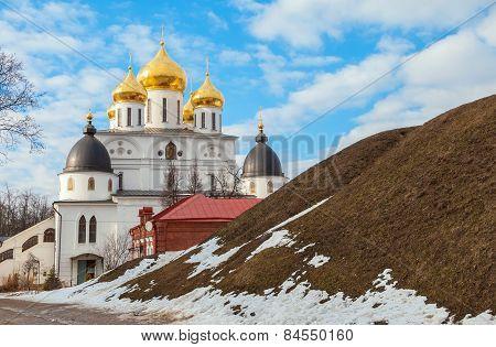 Ancient Russian city Dmitrov