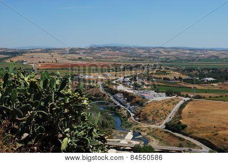 Spanish countryside, Arcos de la Frontera.