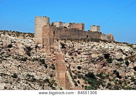 Almeria Castle.
