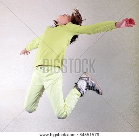Pretty Girl  Jumping High
