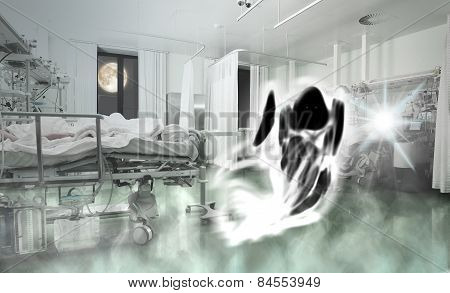 Phantom Of Patient In The Ward