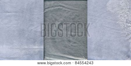 Set Of Light Grayish Grained Leather Textures