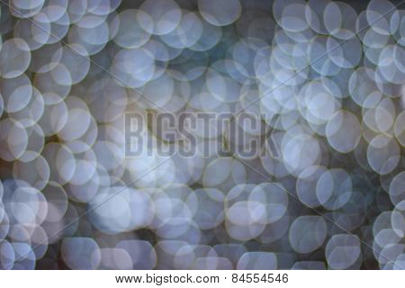 Abstract Gray Background With Bokeh