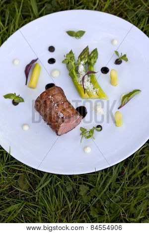 Veal And Asparagus