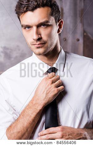 Elegant And Handsome.