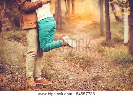 Couple Man and Woman hugging in Love Romantic relationship Lifestyle