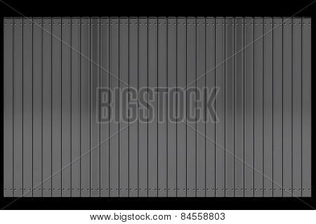 Metal Shutters With Rivets