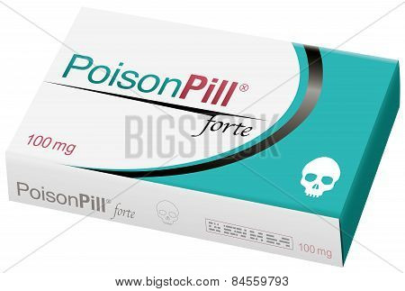 Poison Pill Package Skull