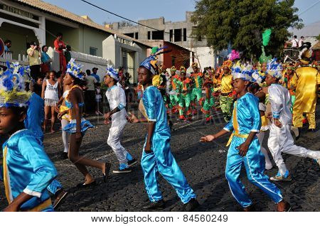 Carnival 2015 In Sao Filipe