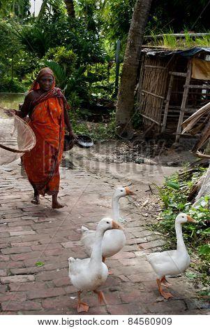 Indian village life