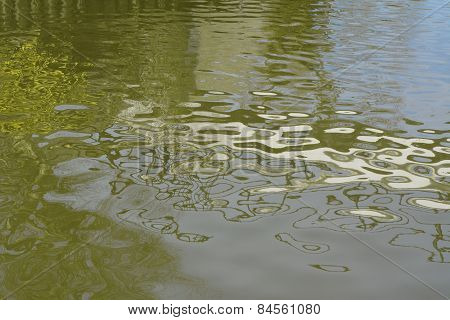 Ripples And Reflections On Water