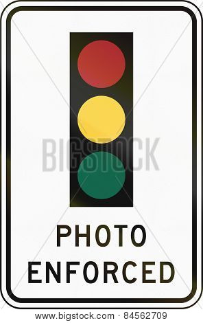 Traffic Signal Photo Enforced