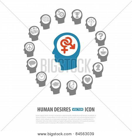 Human Desires Icons