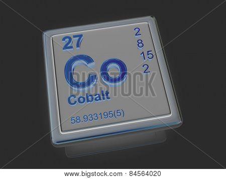 Cobalt. Chemical element. 3d